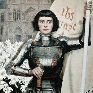 Стихи о Жанне Д'Арк