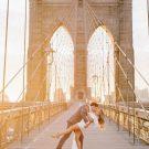 Красивый день, красивый мост, красивый поцелуй