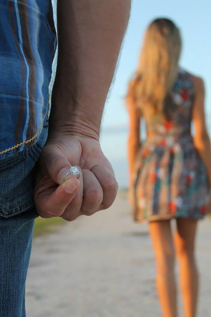 Перед предложением руки и сердца