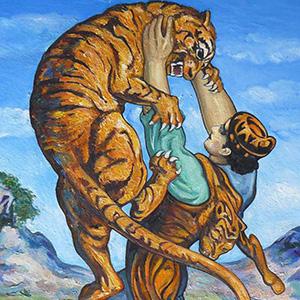 Витязь в тигровой шкуре - Шота Руставели