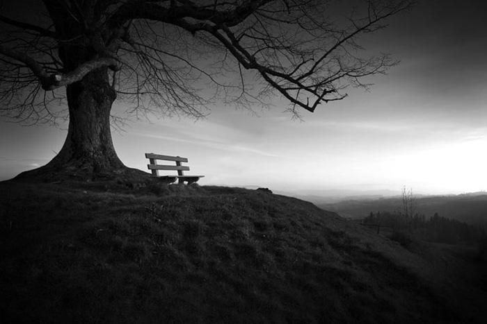 Скамейка, на которой нас больше нет