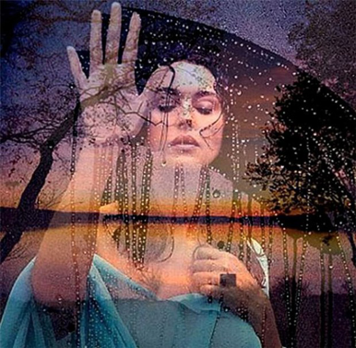Грусть на мокром стекле